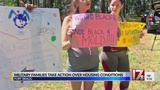 Fort Bragg families take legal action, claim housing is making them sick