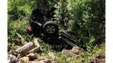 NC couple trapped 9 hours after SUV rolls off 25-foot embankment