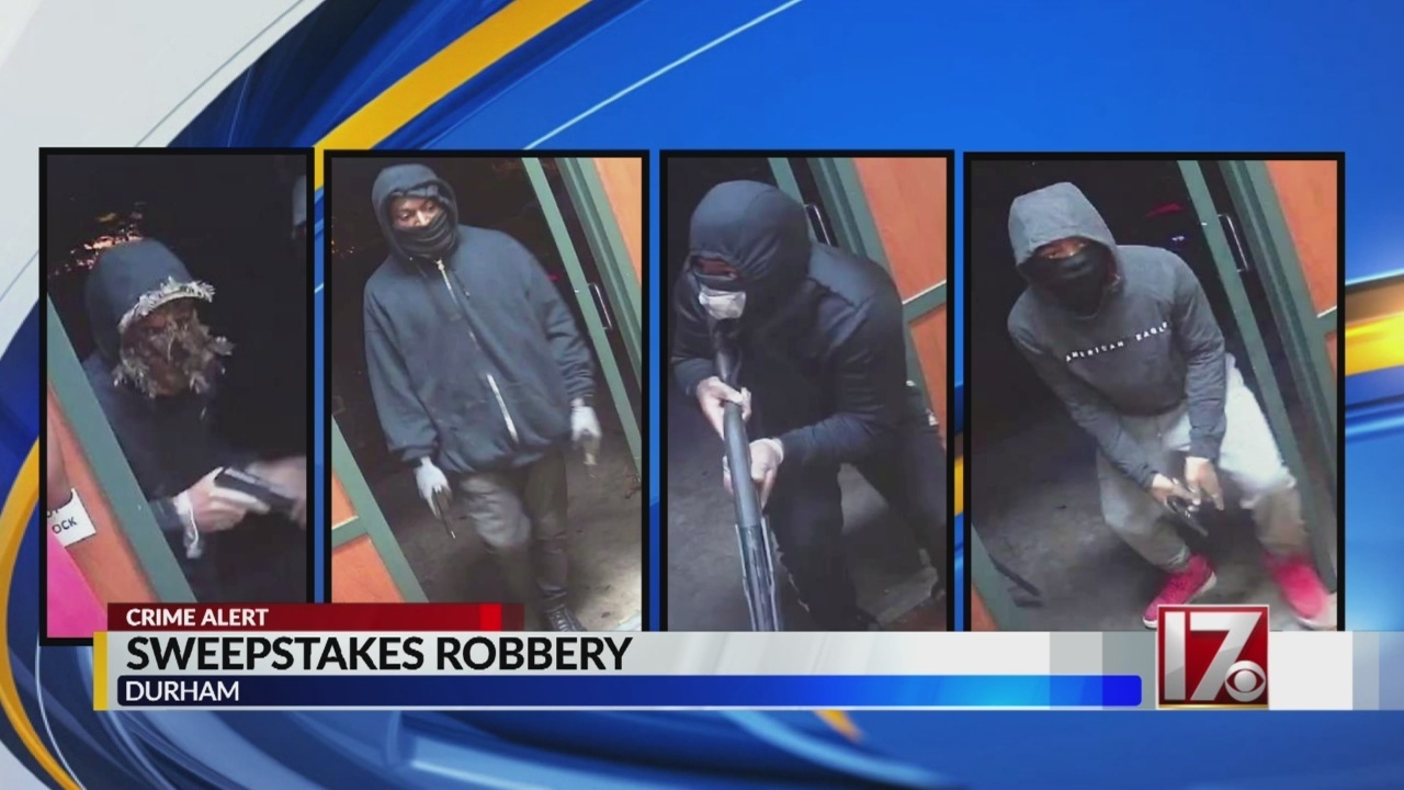 Durham police asking for information on armed robbery involving four