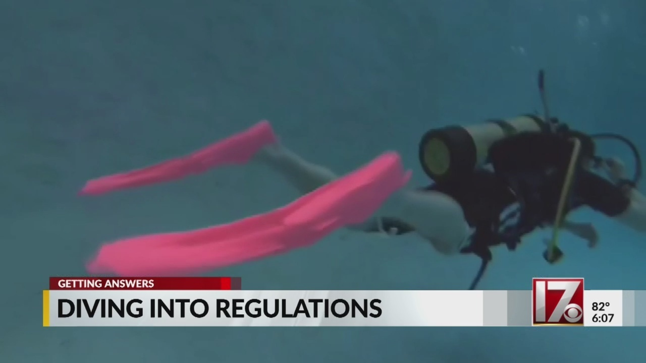 Recent diving death prompts efforts to keep scuba divers safer in the water
