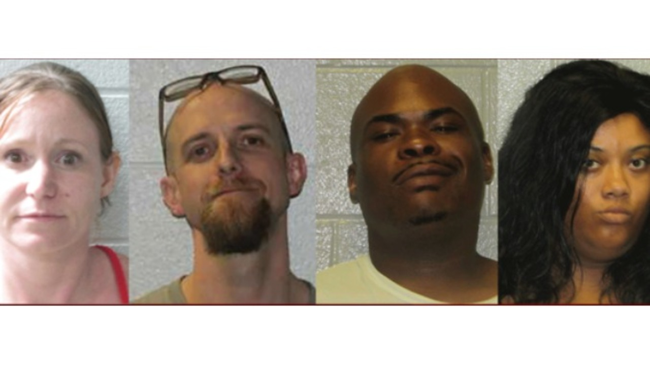 4 arrested on drug charges after traffic stops, homes searches in NC